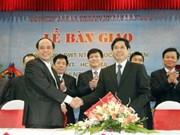 南赵造船工业总公司向客户移交5艘大型货船