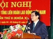 国家主席张晋创出席越南劳动总联合会会议