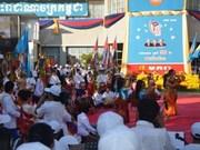 庆祝柬埔寨1•7胜利日33周年集会在河内举行