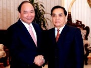 越南和老挝政府间委员会第34次会议在老挝举行