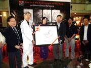 泰国画家《越南今昔建筑画展》拉开序幕