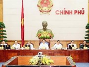 越南政府召开4月份例行会议