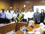 越印联合工作组磋商会在印度新德里召开