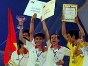 越南雒鸿大学队获参加2012香港亚太大学生机器人大赛资格