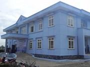 国际人道组织帮助越南建设预防自然灾难住房