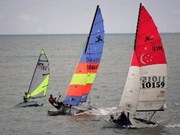 2012年爱梵森帆船比赛在芽庄行