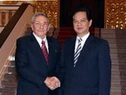 古巴媒体纷纷报道古巴最高领导人访越消息