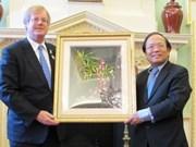 越南希望英国投资商加大对越南投资力度