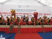 广宁省日产能达500吨的VFM-WILMAR碾麦厂动工兴建