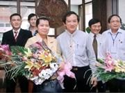 柬埔寨副首相梅森安探访125兵团历史遗迹区
