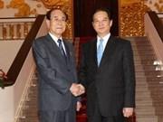 越南一向重视与朝鲜的合作关系