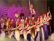 2012年越南全国歌舞联欢会拉开序幕