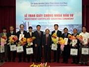 平阳省向17个FDI 项目颁发投资许可证
