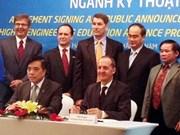 美国协助越南革新大学教育事业