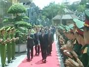 越老各地方举行两国建交50周年庆祝活动