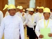缅甸进行大规模内阁改组