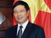 越南外交事业不断向前发展