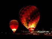 第一届越南国际热气球节落下帷幕