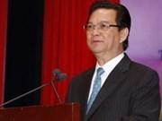 越南政府总理会见联合国驻越机构各首席代表