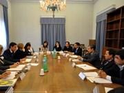 越南政府宗教委员会代表团对意大利进行工作访问