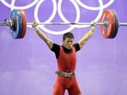 2012年亚洲青年举重锦标赛:越南运动员夺三金