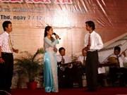 2012年越南南部才子弹唱联欢会拉开序幕