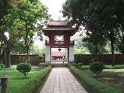奎文阁被选为河内首都文化标志
