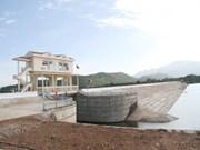 宁顺省:由比利时王国赞助的水库工程落成