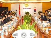 越南与韩国共同面向签署自由贸易协定的目标