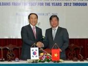 越南与韩国签署优惠贷款框架协议