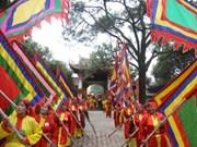 越南海阳省昆山劫泊春节庙会拉开序幕