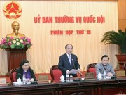 越南第十三届国会常务委员会落下帷幕
