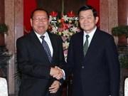 2015年越南与柬埔寨双向贸易金额有望达到50亿美