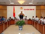 阮善仁副总理会见金瓯省革命有功者代表团