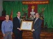 越南政府向旅泰侨胞颁发勋章