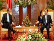 越南政府副总理武文宁会见国际货币基金组织代表