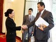 阮芳娥副外长同斯里兰卡外交部秘书阿穆努加马进行政治磋商