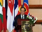 日本参议员:日本高度评价东盟在本地区的重要地位