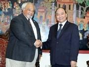 阮春福副总理:希望美国继续帮助越南防治艾滋病