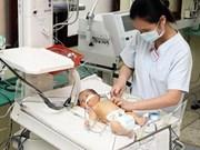 越南成功降低新生儿死亡率