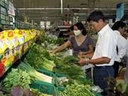 2013年5月份全国消费价格指数呈下降趋势