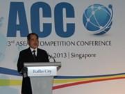 越南出席第三届东盟竞争会议
