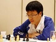 越南一号棋手黎光廉在世界超快棋排行榜排名上升30位