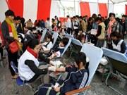 5000名志愿者参加2013年穿越越南无偿献血公益活动