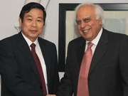 越南与印度加强信息和传媒领域的合作
