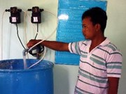 三个清洁水供应项目继续惠及河内市郊区更多居民