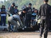 泰国政府呼吁叛军投降