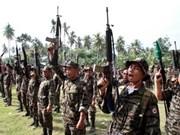 菲律宾军队与叛军发生枪战