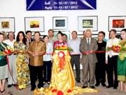 越南—老挝美术家协会加强合作