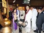 胡志明市领导会见斯里兰卡议会议长